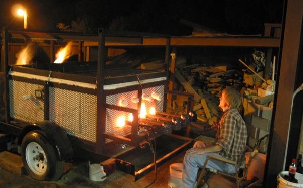 Firing the Kazegama-600x374