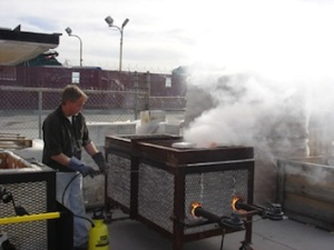 2007-Steve Davis-Soda Ash Firing-March 3-4, 2007-13-358