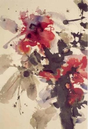 Flower watercolor 21