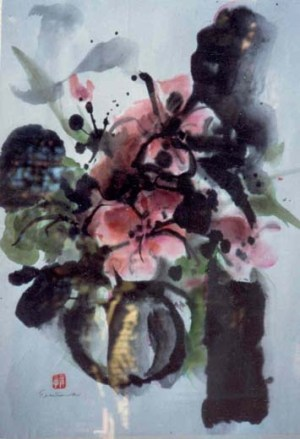 Flower watercolor 6