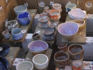soda lilac pots