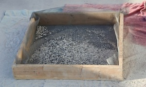 sintered ash