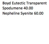 Boyd Eutectic Transparent