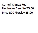 Cornell Climax Red