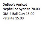 DeBoo's Apricot