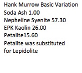 Hank Murrow Basic Variation