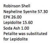 Robinson Shell