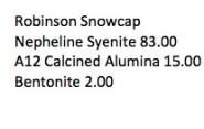 Robinson Snowcap