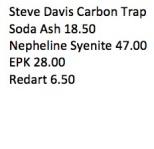 Steve Davis Carbon Trap